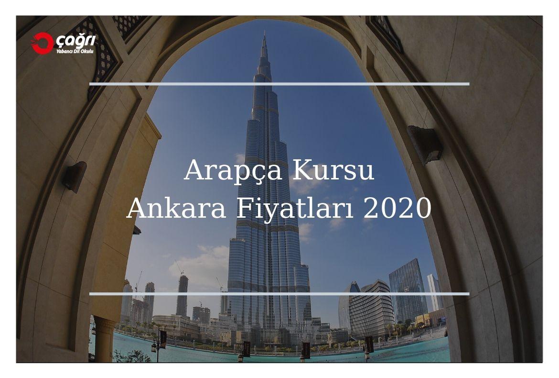 Arapça Kursu Ankara Fiyatları 2020