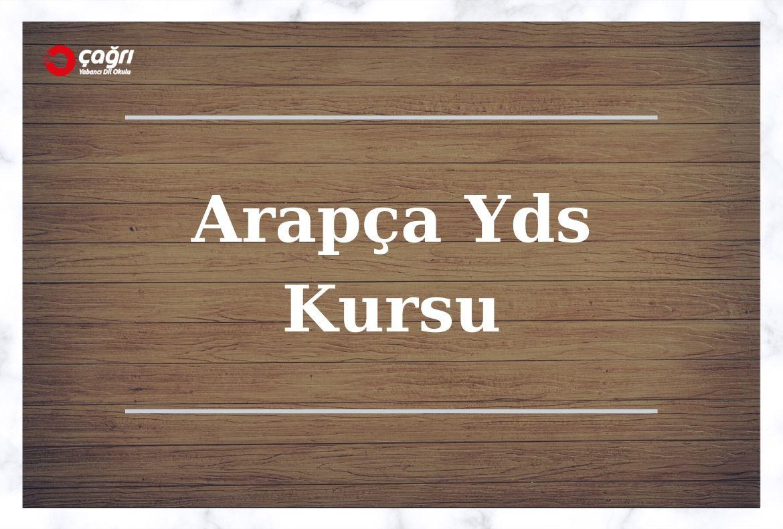 Arapça Yds Kursu Ankara